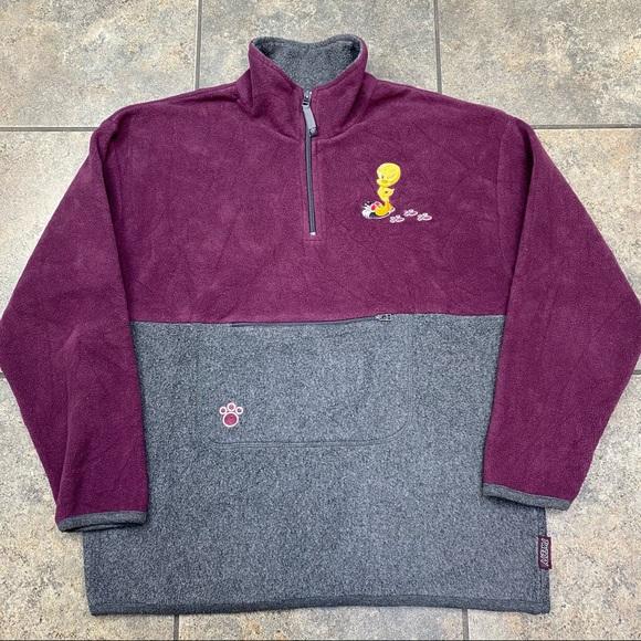 VTG 01 Looney Tunes Tweety Bird Sweatshirt Size M
